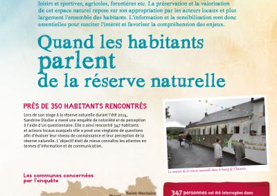 Conception de la Jasione pour la Réserve naturelle de Chastreix-Sancy (2015-2016)