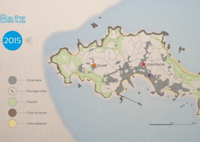 Scénographie dans le phare de L'Île de Batz (2016-2017)