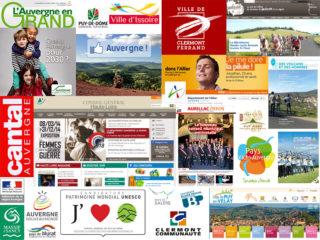 Paysage de la communication publique en Auvergne