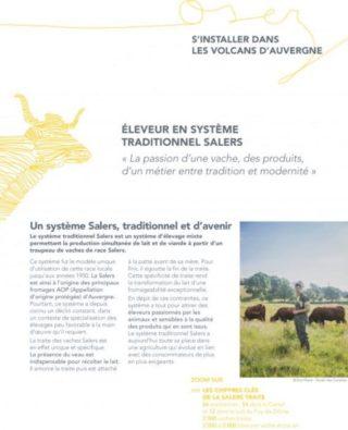Osez ! S'installer dans les volcans d'Auvergne