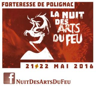 Logo de la Nuit des Arts du Feu 2016