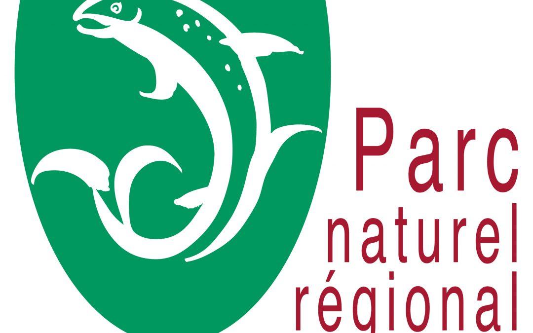 Le logo du Parc des sources et gorges de l'Allier