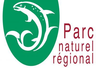 Nom et logo du Parc des sources et gorges de l'Allier