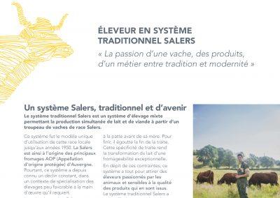 Éleveur en système traditionnel Salers (2014)