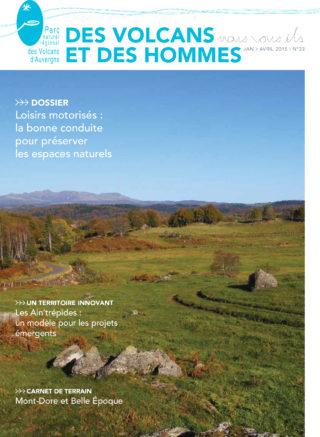 Magazine du Parc des volcans d'Auvergne